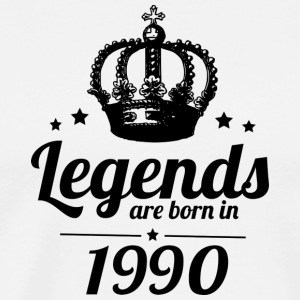 Legends 1990 - Herre premium T-shirt