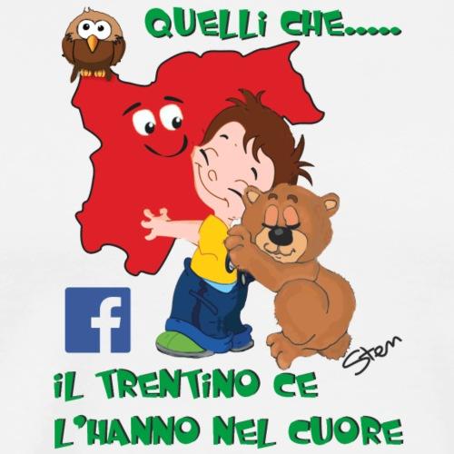 Abbraccio al Trentino - Maglietta Premium da uomo