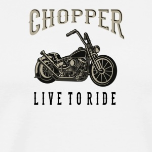 chopper - Herre premium T-shirt