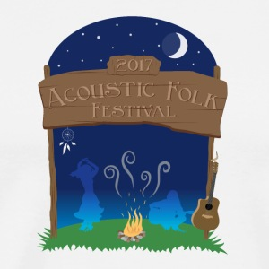 Acoustic Folk Festival 2 - Men's Premium T-Shirt