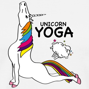 UNICORN YOGA - COBRA POSITION - Herre premium T-shirt