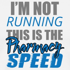 Pharmazie / Apotheker: I´m Not Running. This is - Männer Premium T-Shirt