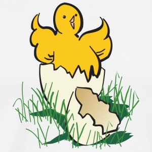 chicken26 - Premium-T-shirt herr