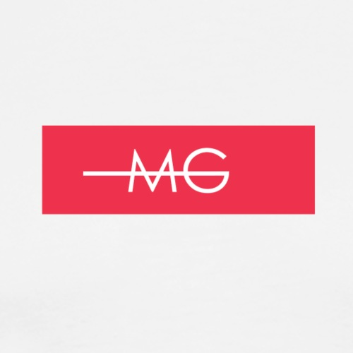MG RED BOX LOGO - Männer Premium T-Shirt