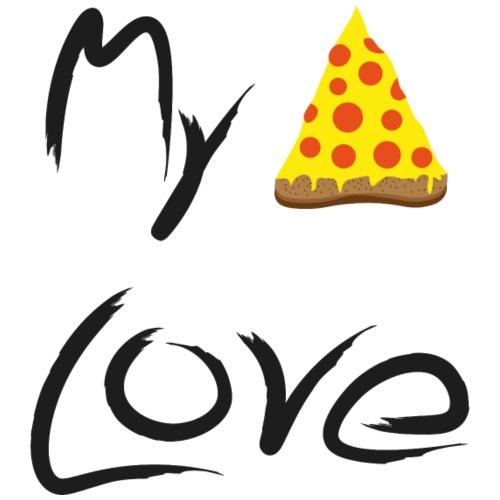 My Pizza Love - Männer Premium T-Shirt