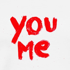 You & Me - Premium T-skjorte for menn