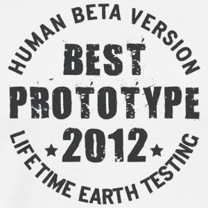 2012 - The birth year of legendary prototypes - Men's Premium T-Shirt