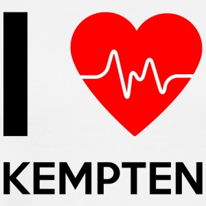 I Love Kempten - I love Kempten - Men's Premium T-Shirt