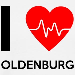 I Love Oldenburg - I love Oldenburg - Men's Premium T-Shirt