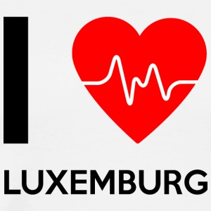 J'aime Luxembourg - I Love Luxembourg - T-shirt Premium Homme