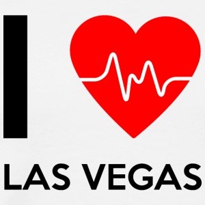 I Love Las Vegas - I love Las Vegas - Men's Premium T-Shirt