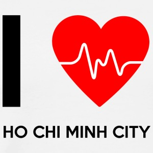 I Love Ho Chi Minh City - I Love - Herre premium T-shirt