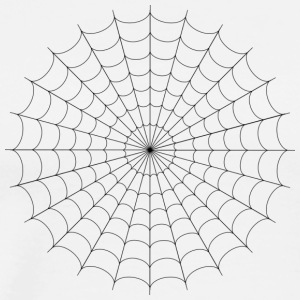 Spiderweb - Premium T-skjorte for menn