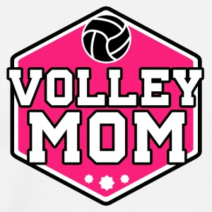 Volleybal Mom - Männer Premium T-Shirt