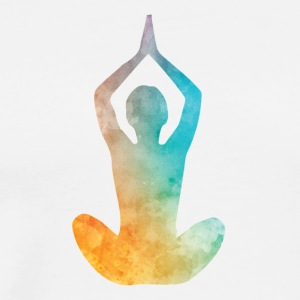 YOGA IS MIJN LEVEN COLLECTION - Mannen Premium T-shirt