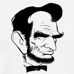 Lincoln cartoon - Men's Premium T-Shirt