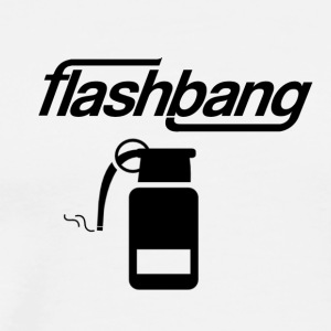 Flash-Bang log - 25kr Donation - Männer Premium T-Shirt