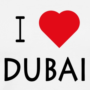 I Love Dubai - Men's Premium T-Shirt