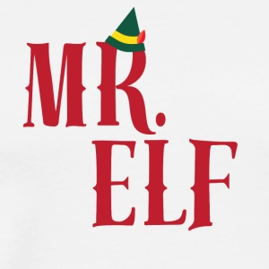 CHRISTMAS -ELF - DADDY - Mannen Premium T-shirt