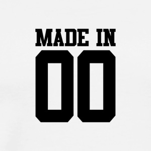 MADE IN 00-2000 - Verjaardag - Mannen Premium T-shirt