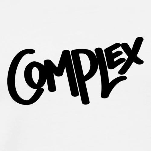 Complex Logo Black - Men's Premium T-Shirt