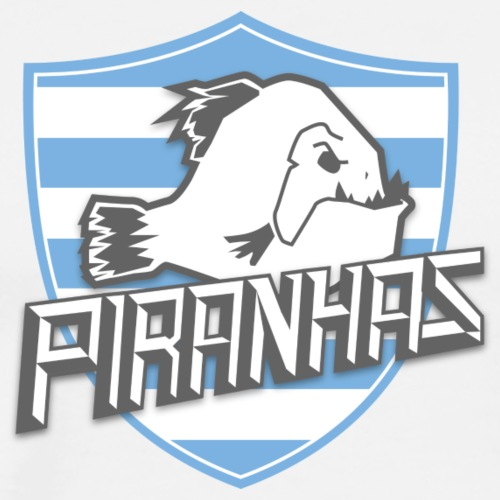Logo Piranhas v5 - T-shirt Premium Homme