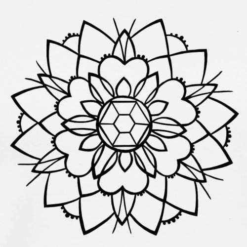 mandala 2, taste of ink tattoo - Männer Premium T-Shirt