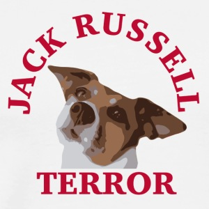 Jack Russell terror2 rouge - T-shirt Premium Homme