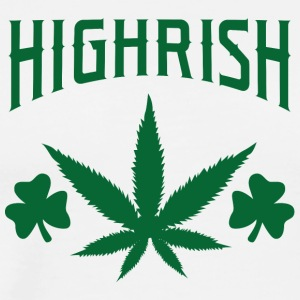 Ireland / St. Patricks Day: Highrish - Premium T-skjorte for menn