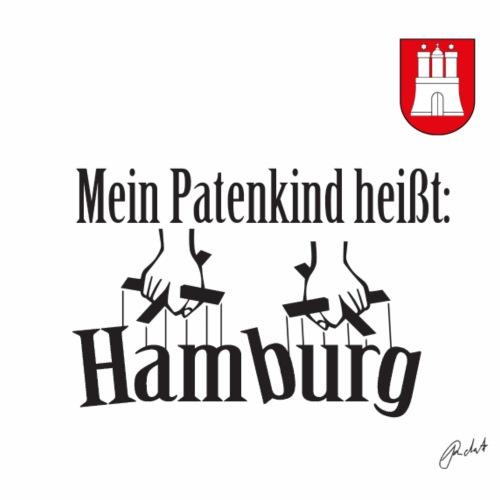Mein Patenkind heißt Hamburg - Männer Premium T-Shirt
