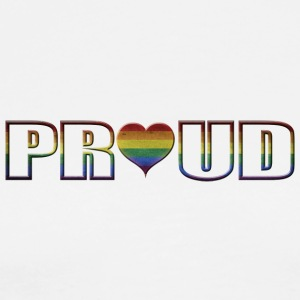 proud to be gay - Männer Premium T-Shirt
