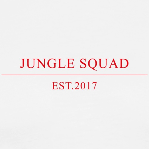 jungle squad typo - Männer Premium T-Shirt