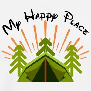 happy Camper - Mannen Premium T-shirt