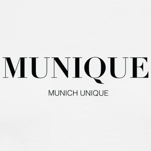 Munique - Munich Unique Fashion - Männer Premium T-Shirt