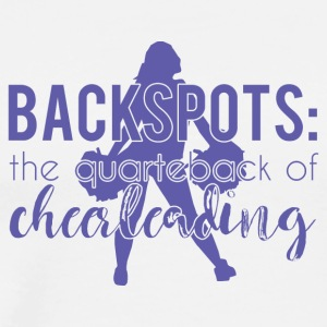 Cheerleader: Backspots - The Quarterback Of Cheer - Men's Premium T-Shirt