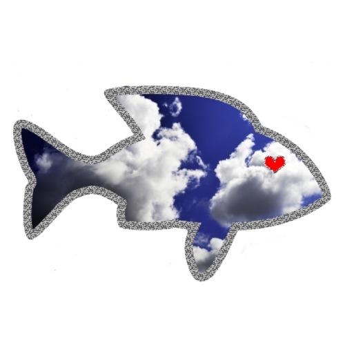 Il pesce innamorato - Maglietta Premium da uomo