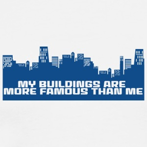 Architekt / Architektur: My Buildings are more - Männer Premium T-Shirt