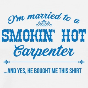Zimmermann: I'm Married To A Smokin' Hot Carpenter - Men's Premium T-Shirt