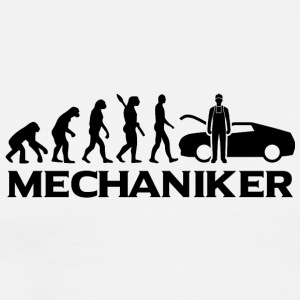 Evolution Mechaniker Mechanikerin bt - Männer Premium T-Shirt