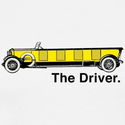 Yellow Oldtimer - The Driver. - Männer Premium T-Shirt