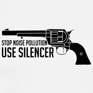 Military / Soldiers: Stop Noise Pollution, Use - Men's Premium T-Shirt