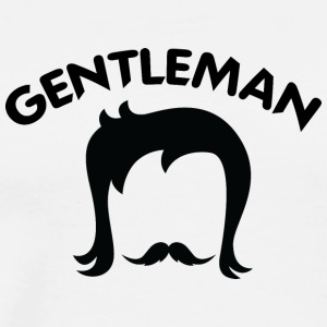 GENTLEMAN 7 black - Men's Premium T-Shirt