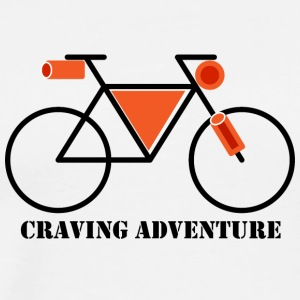 Craving Adventure - Mannen Premium T-shirt