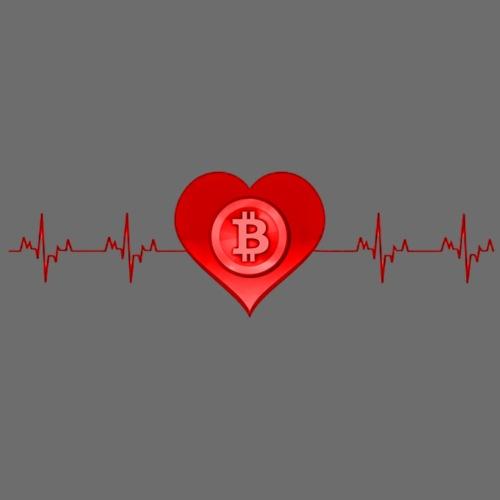 Love Bitcoin - Männer Premium T-Shirt