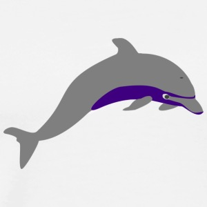 Dolphin purple - Men's Premium T-Shirt