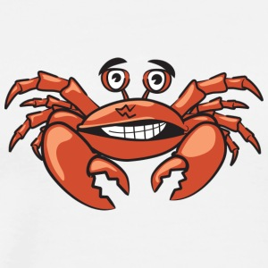 Crazy red crab - Männer Premium T-Shirt