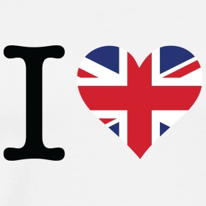 I Love The United Kingdom - Men's Premium T-Shirt