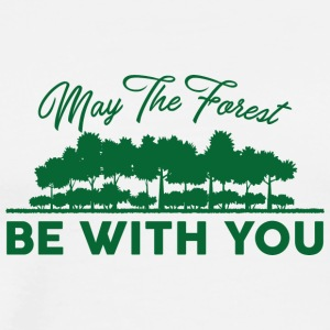 Earth Day / Tag der Erde: May The Forest Be With Y - Männer Premium T-Shirt