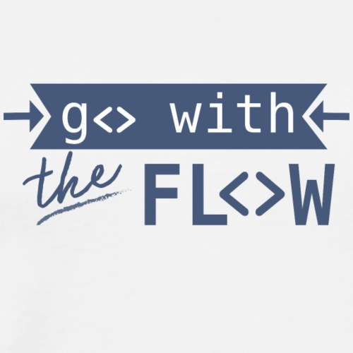 Go With The Flow | Animal Fashion - Männer Premium T-Shirt