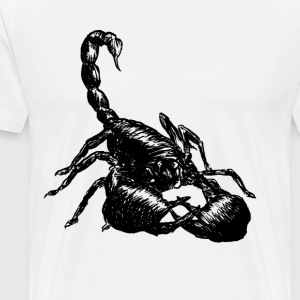 Nether Scorpion - Premium-T-shirt herr